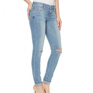 Paige verdugo ankle mid rise ultra skinny jeans